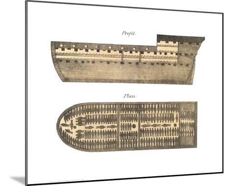 Slave Ship--Mounted Giclee Print