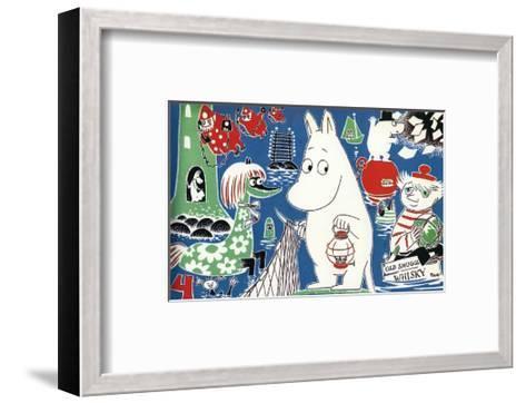 The Moomins Comic Cover 4-Tove Jansson-Framed Art Print