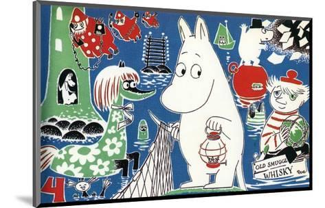 The Moomins Comic Cover 4-Tove Jansson-Mounted Art Print