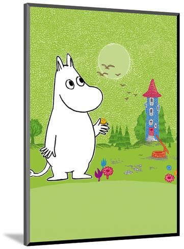 Moomintroll in Moomin Valley-Tove Jansson-Mounted Art Print