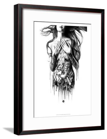 Intrinsic-Pez-Framed Art Print