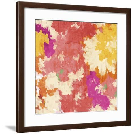 September Orange I-Irena Orlov-Framed Art Print