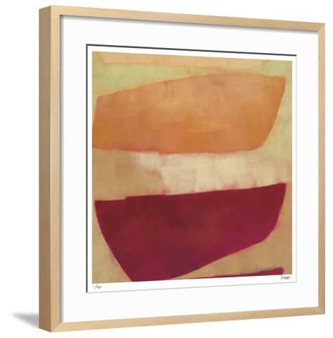Keyhole and Clue 1-Katharine McGuinness-Framed Art Print