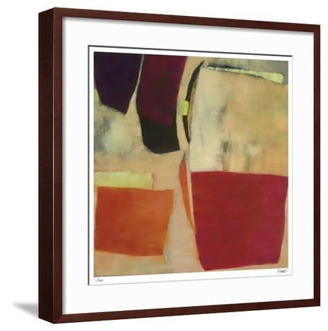 Keyhole and Clue 3-Katharine McGuinness-Framed Art Print