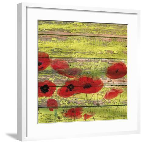 Red Poppies 1-Irena Orlov-Framed Art Print
