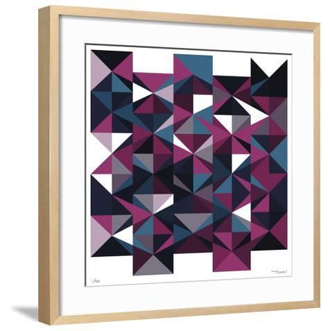 Daily Geometry 438-Tilman Zitzmann-Framed Art Print