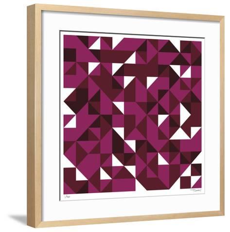 Daily Geometry 114-Tilman Zitzmann-Framed Art Print