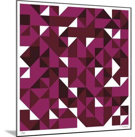 Daily Geometry 114-Tilman Zitzmann-Mounted Giclee Print