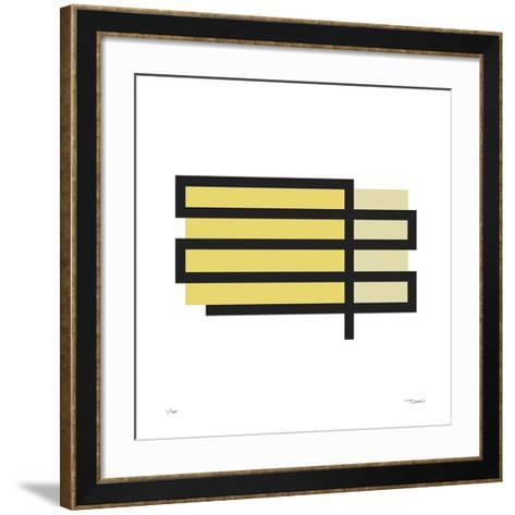 Daily Geometry 165-Tilman Zitzmann-Framed Art Print