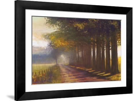 Sunset Highway-Amanda Houston-Framed Art Print