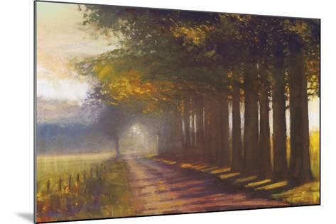 Sunset Highway-Amanda Houston-Mounted Giclee Print