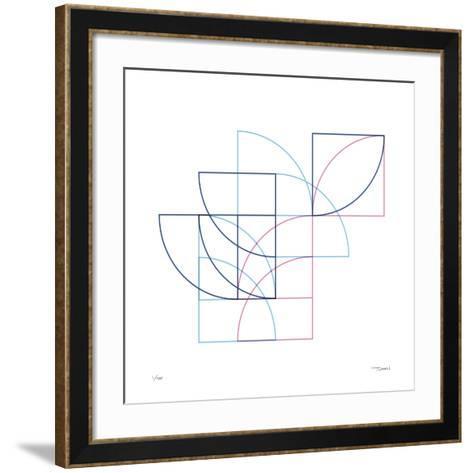 Daily Geometry 212-Tilman Zitzmann-Framed Art Print
