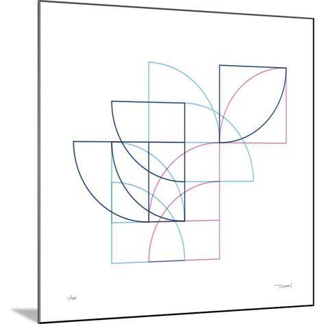 Daily Geometry 212-Tilman Zitzmann-Mounted Giclee Print