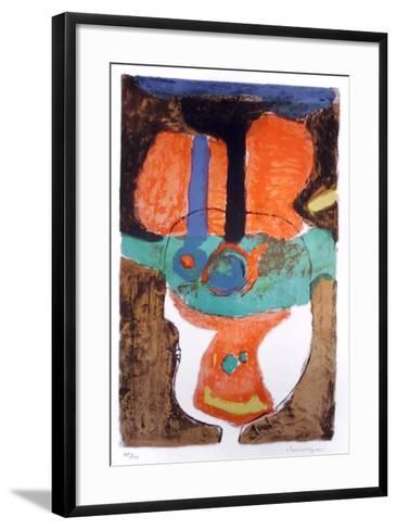 Glass-Slavko Kopac-Framed Art Print