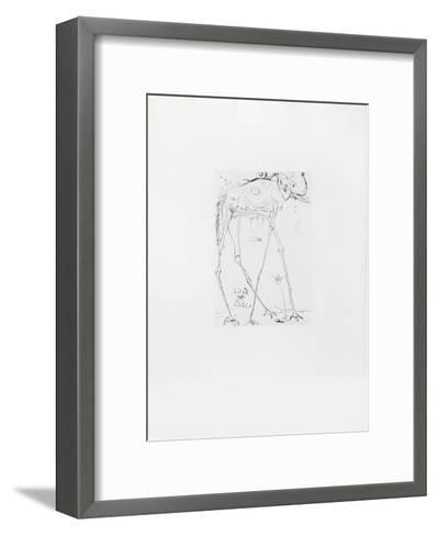 Space Elephant-Salvador Dal?-Framed Art Print