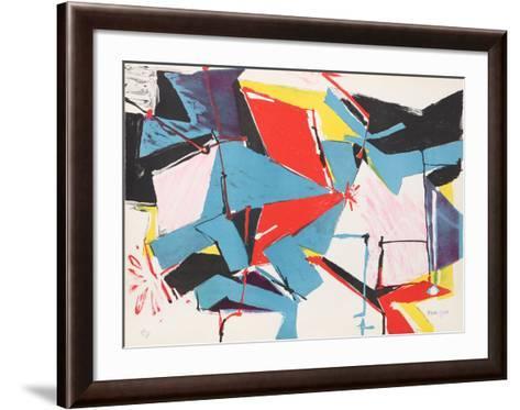 Untitled-Jasha Green-Framed Art Print