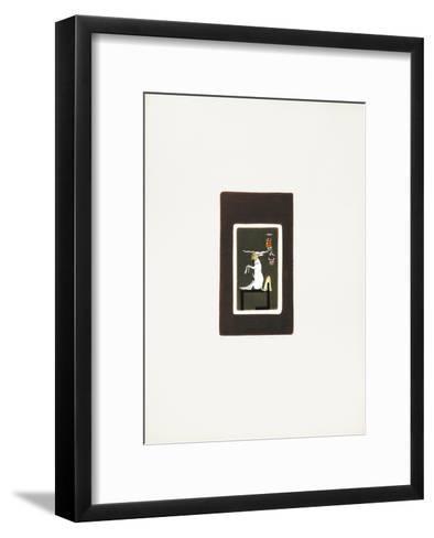 Egyptian Theme 1-Mireille Kramer-Framed Art Print