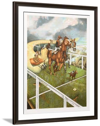 Materialistic Race-Israel Rubinstein-Framed Art Print