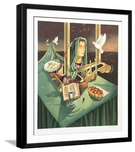 Inauguration of the Sabbath-Israel Rubinstein-Framed Art Print