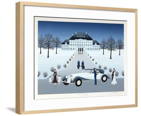 Rolls Royce Wedding-Wilma Longhammer-Framed Art Print