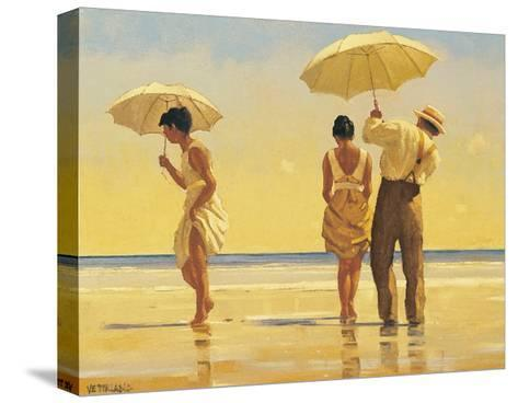 Mad Dogs-Jack Vettriano-Stretched Canvas Print