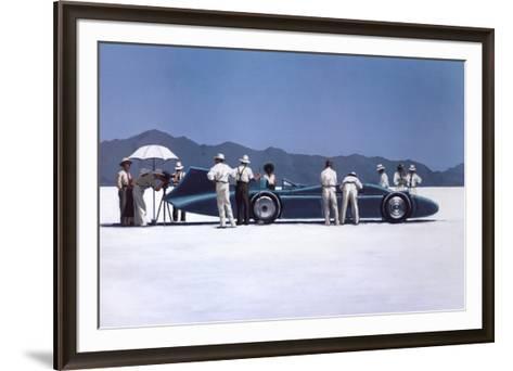 Bluebird at Bonneville-Jack Vettriano-Framed Art Print