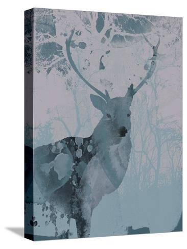 Deerhood II-Ken Hurd-Stretched Canvas Print
