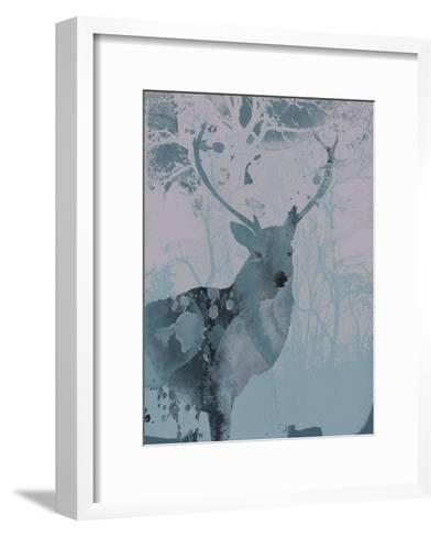 Deerhood II-Ken Hurd-Framed Art Print