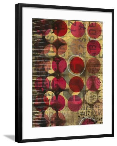 Annotation-Sophia Buddenhagen-Framed Art Print