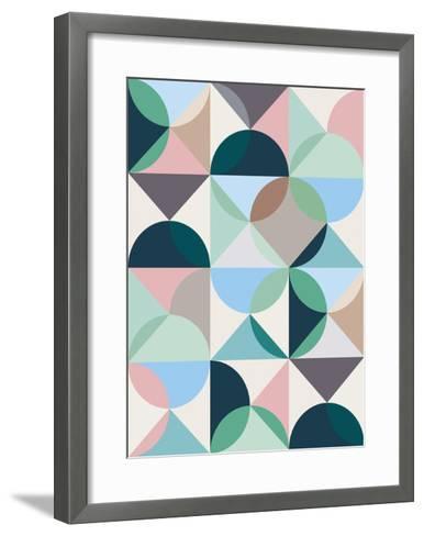 Music For Cool Houses-Gary Andrew Clarke-Framed Art Print