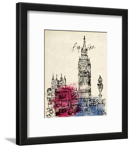 Big Ben in Pen-Morgan Yamada-Framed Art Print