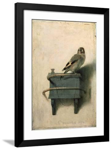 The Goldfinch, 1654-Carel Fabritius-Framed Art Print