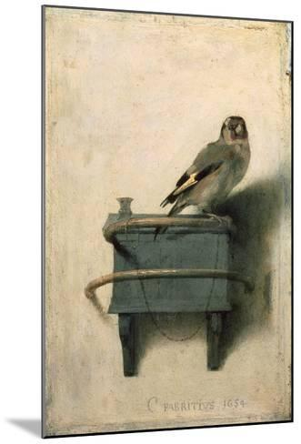 The Goldfinch, 1654-Carel Fabritius-Mounted Art Print