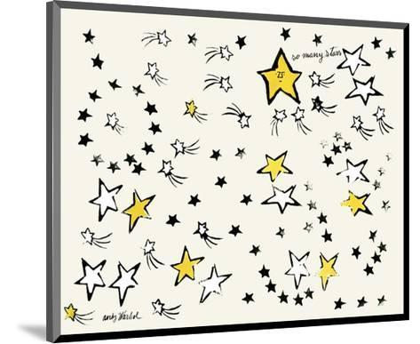 So Many Stars, c. 1958-Andy Warhol-Mounted Art Print