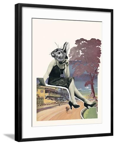 Petville II-Clara Wells-Framed Art Print