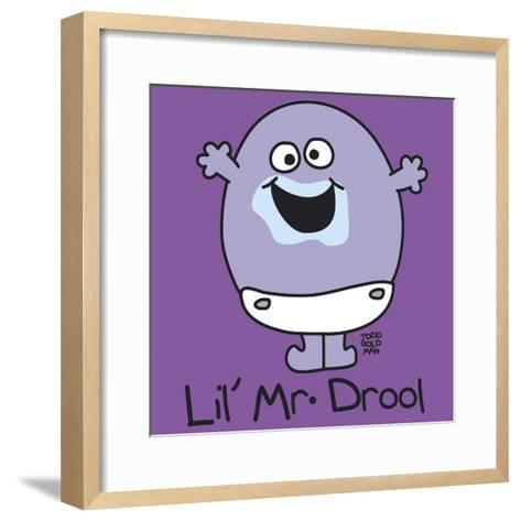 Lil Mr Drool-Todd Goldman-Framed Art Print