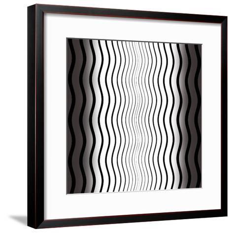 Op Art V-Tom Frazier-Framed Art Print
