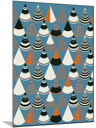 Pattern Play III-Sophie Ledesma-Mounted Giclee Print