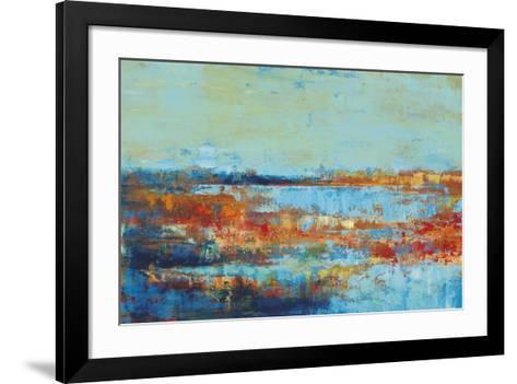 Shoreline Glimmer I-Georges Generali-Framed Art Print