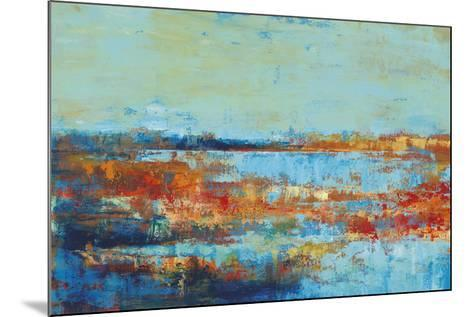 Shoreline Glimmer I-Georges Generali-Mounted Giclee Print