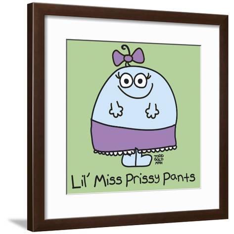 Lil Miss Prissy Pants-Todd Goldman-Framed Art Print