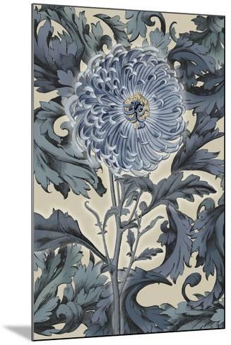 Indigo Deco Flower I-Emma Hill-Mounted Giclee Print