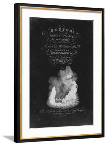 Buffon's Natural History-The Vintage Collection-Framed Art Print