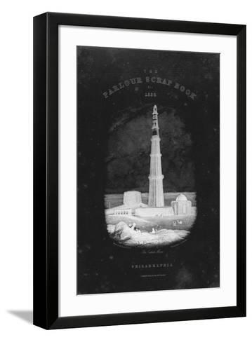 Parlour Scrap Book-The Vintage Collection-Framed Art Print