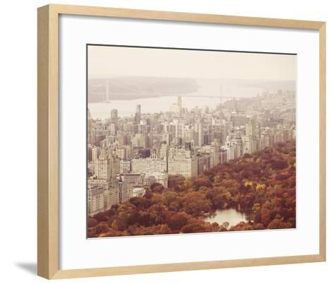 New York Autumn II-Irene Suchocki-Framed Art Print