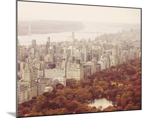 New York Autumn II-Irene Suchocki-Mounted Giclee Print