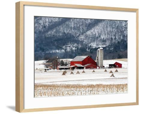Winter Farm-Bill Coleman-Framed Art Print