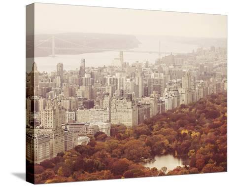 New York Autumn II-Irene Suchocki-Stretched Canvas Print