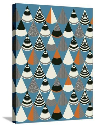 Pattern Play III-Sophie Ledesma-Stretched Canvas Print