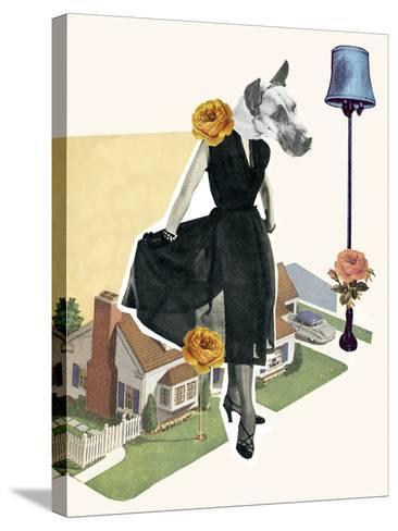 Petville III-Clara Wells-Stretched Canvas Print